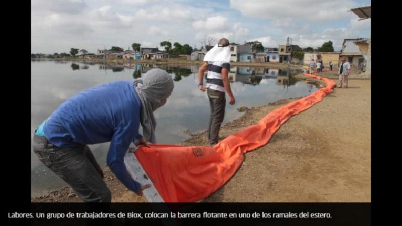 Biorremediación BIOX, inicia el proceso de rescate del estero Palanqueado